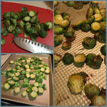 Roasted Brussels 1